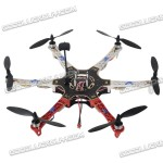F550 Hexa Frame with integrated flight controller