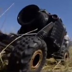 Remote control camera almost gets eaten by lions