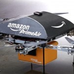 Amazon tinkers with multicopters for airborne delivery