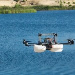 Riverwatch is an autonomous Catamaran with piggyback Hexacopter