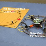 Wireless power transmission for quadrotors
