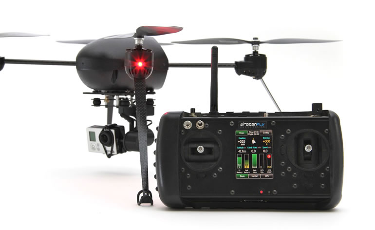 Draganflyer-controller