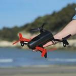 Parrot Bepop is a GPS-enhanced RTF camera quadcopter