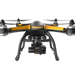Hubsan X4 Pro features parachute rescue system, tablet-style remote